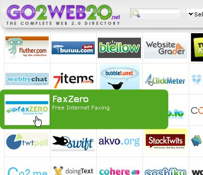Thousands of web 2.0 sites
